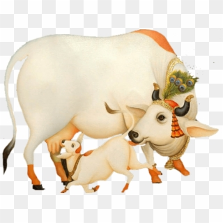 Free Krishna With Cow PNG Images.
