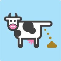 Cow dung clipart.