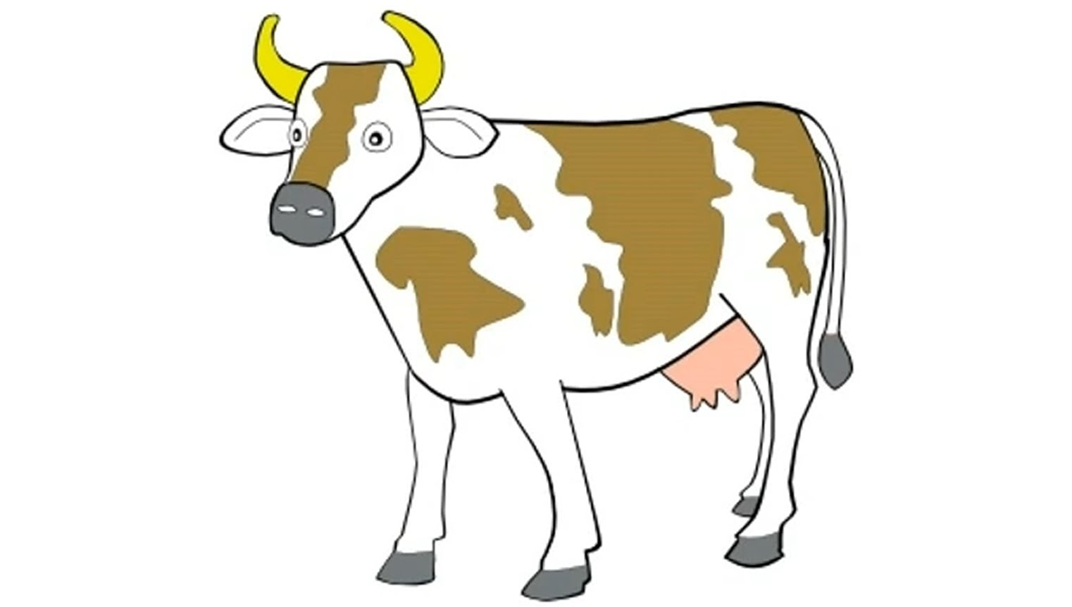 Cow moo sound effect.