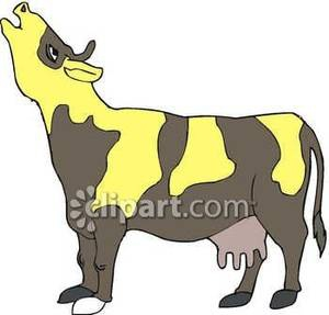 Cow Mooing Clipart#1995117.