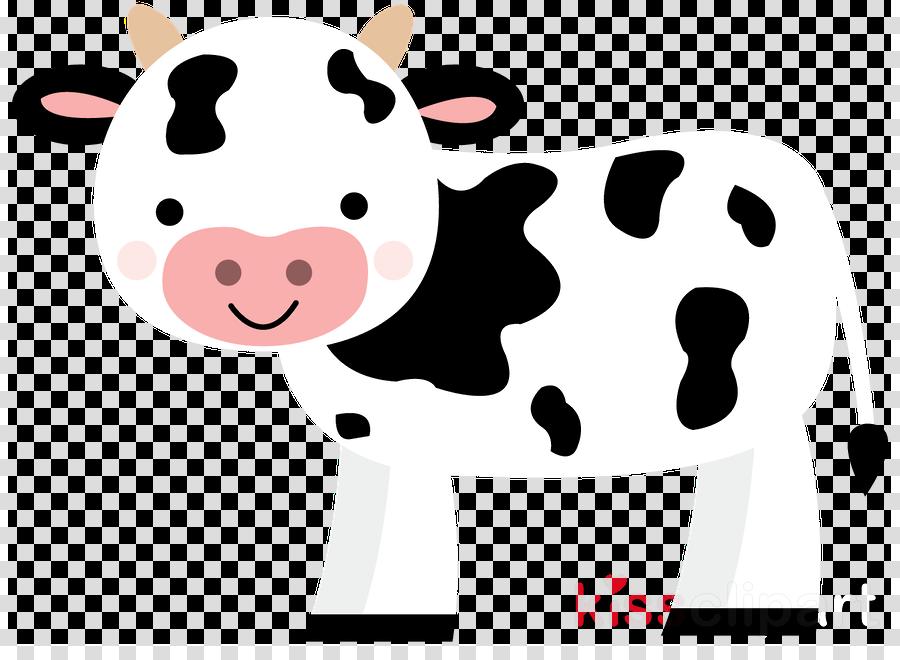 cartoon bovine dairy cow clip art nose clipart.