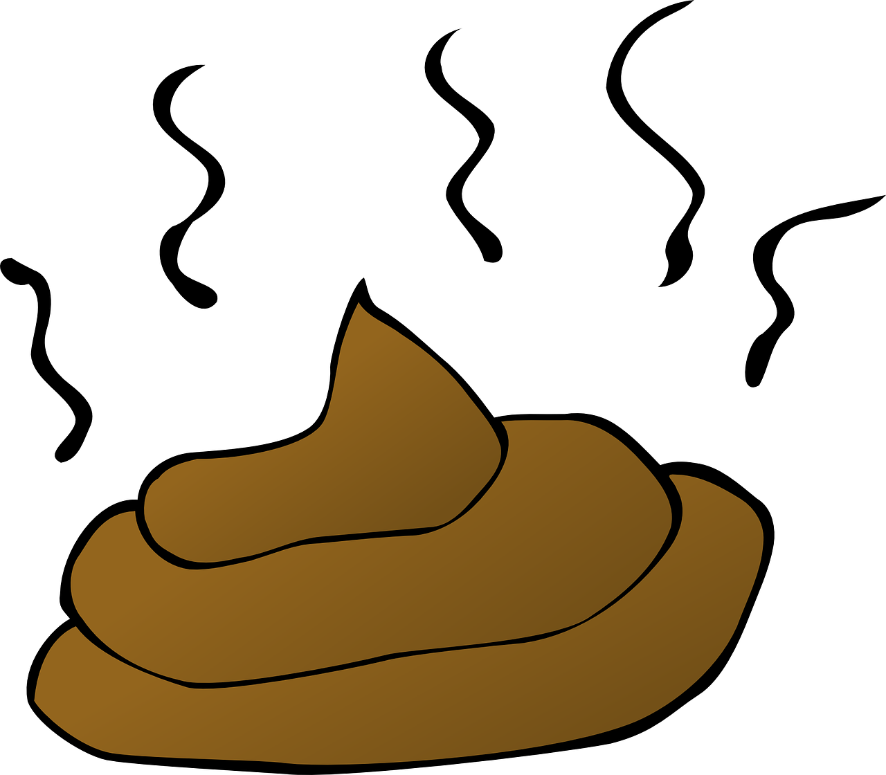 No Poop Clipart.