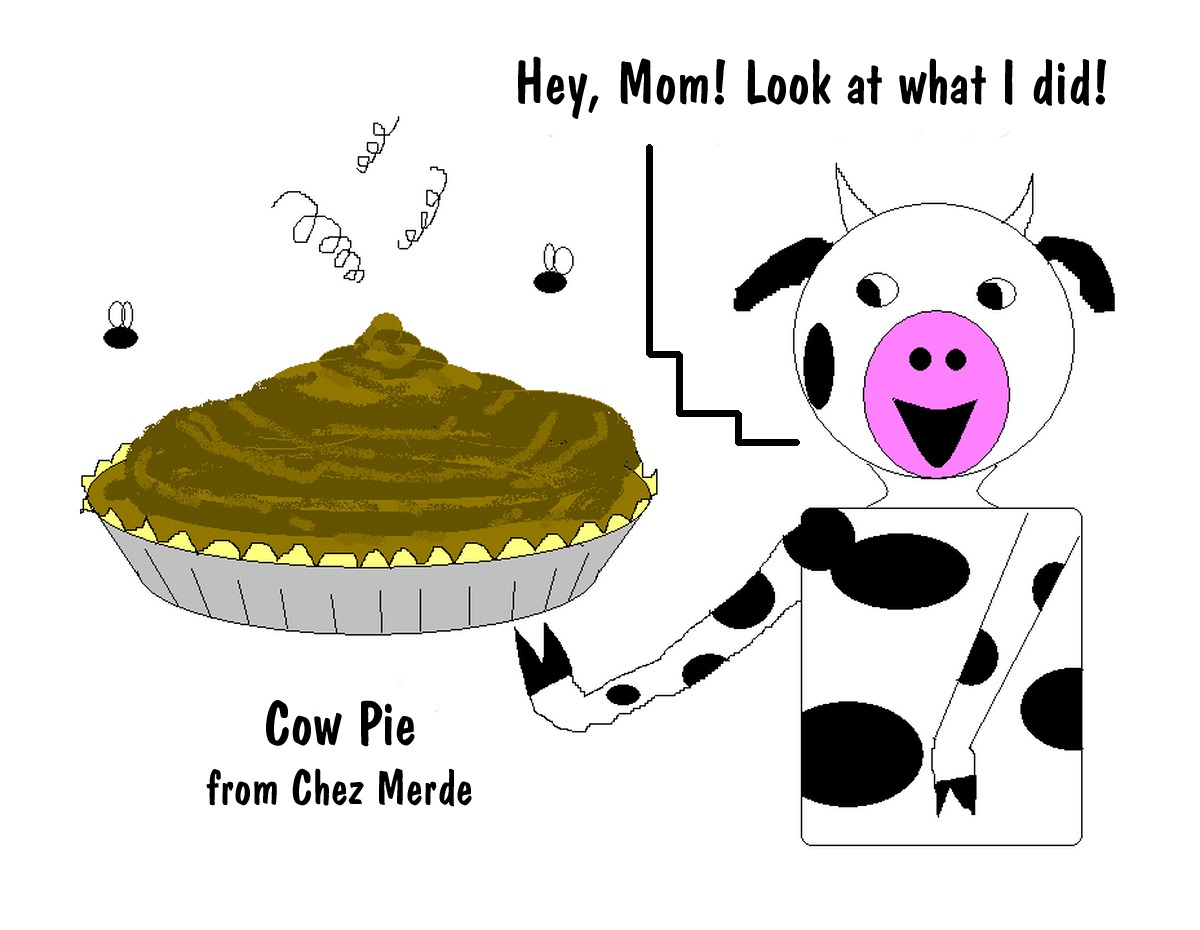 Showing post & media for Cartoon cow pie.