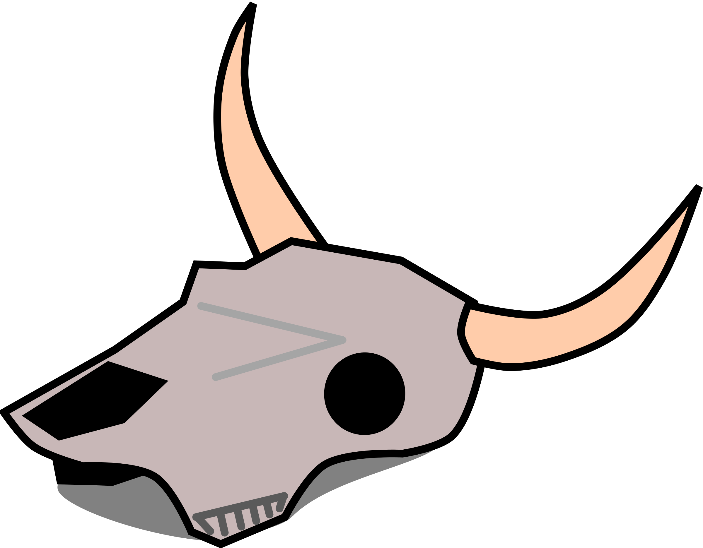 Cow Skull Clipart Clipground