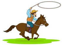 Cowboy horse clipart 1 » Clipart Portal.