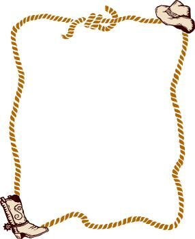 Free Western Rope Border Clip Art Picturespidercom Clipart.