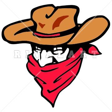 Cowboy Bandana Clipart#1944019.