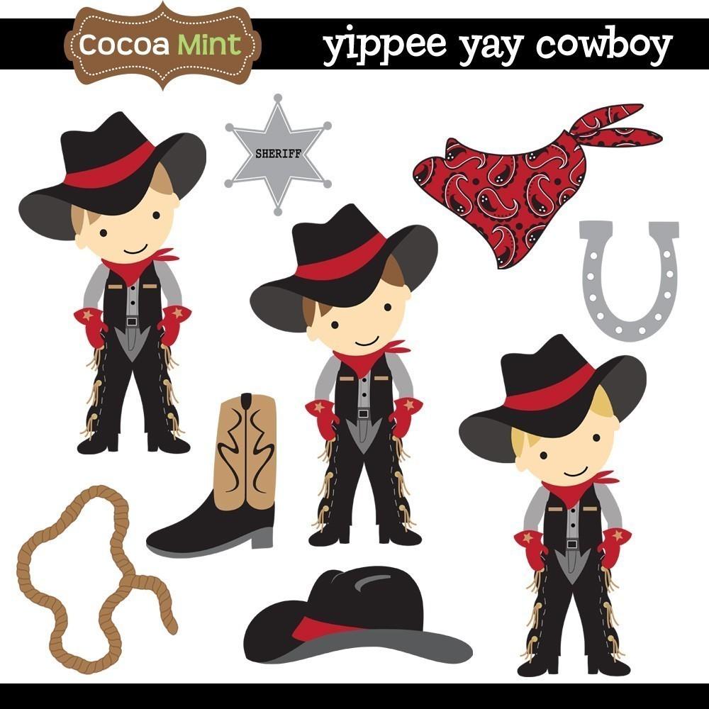 Cowboy Bandana Clipart.