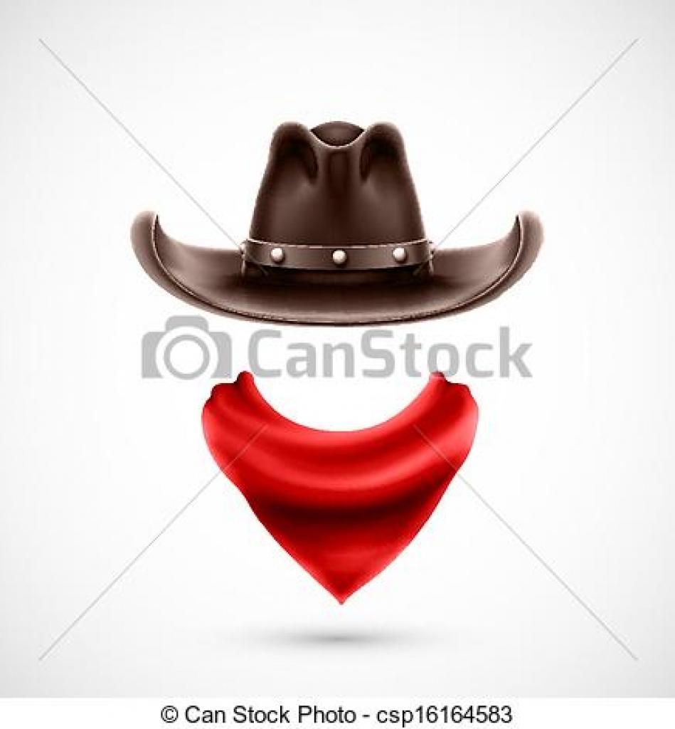 cowboy bandana clipart #9