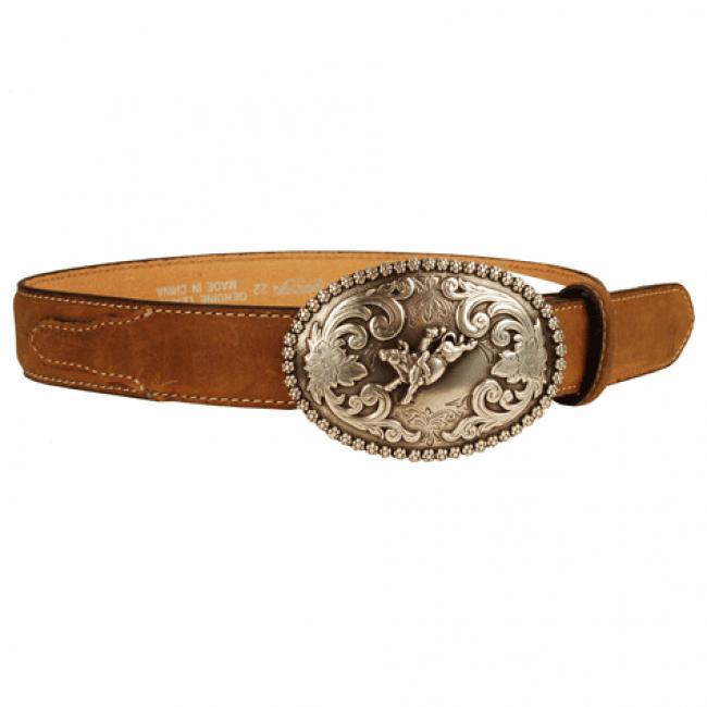Nocona Children's Rodeo Cowboy Buckle Western Belt.