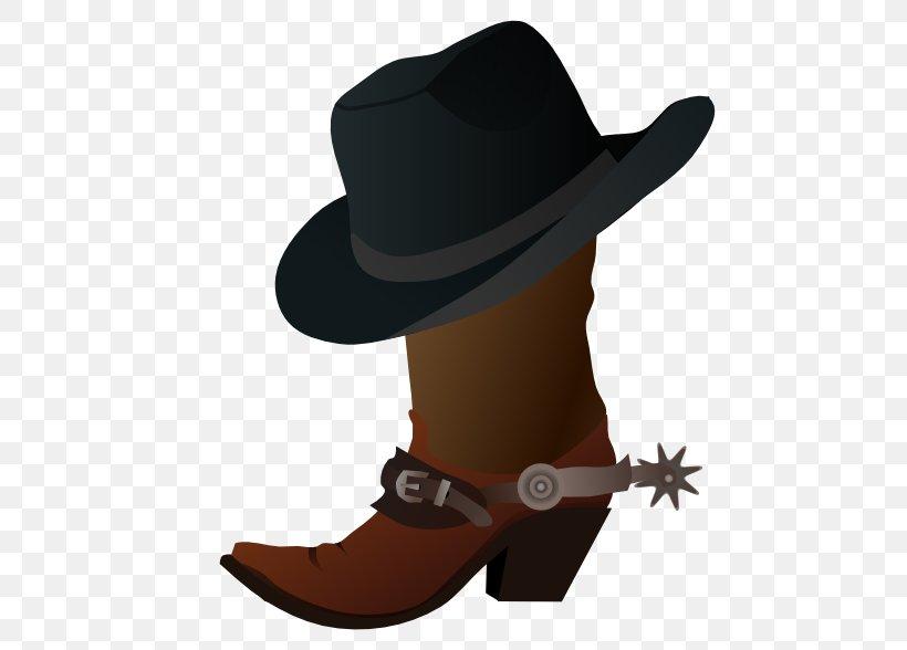 Hat \'n\' Boots Cowboy Boot Clip Art, PNG, 555x588px, Hat N.