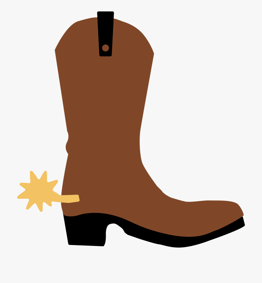 Cowboy Boot Cut File Clipart , Png Download.