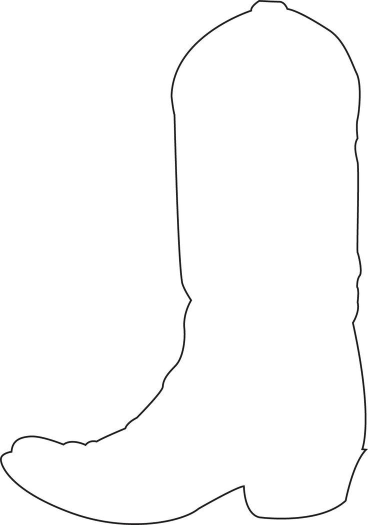 Cowboy Boots Clipart Black And White (91+ images in Collection) Page 2.