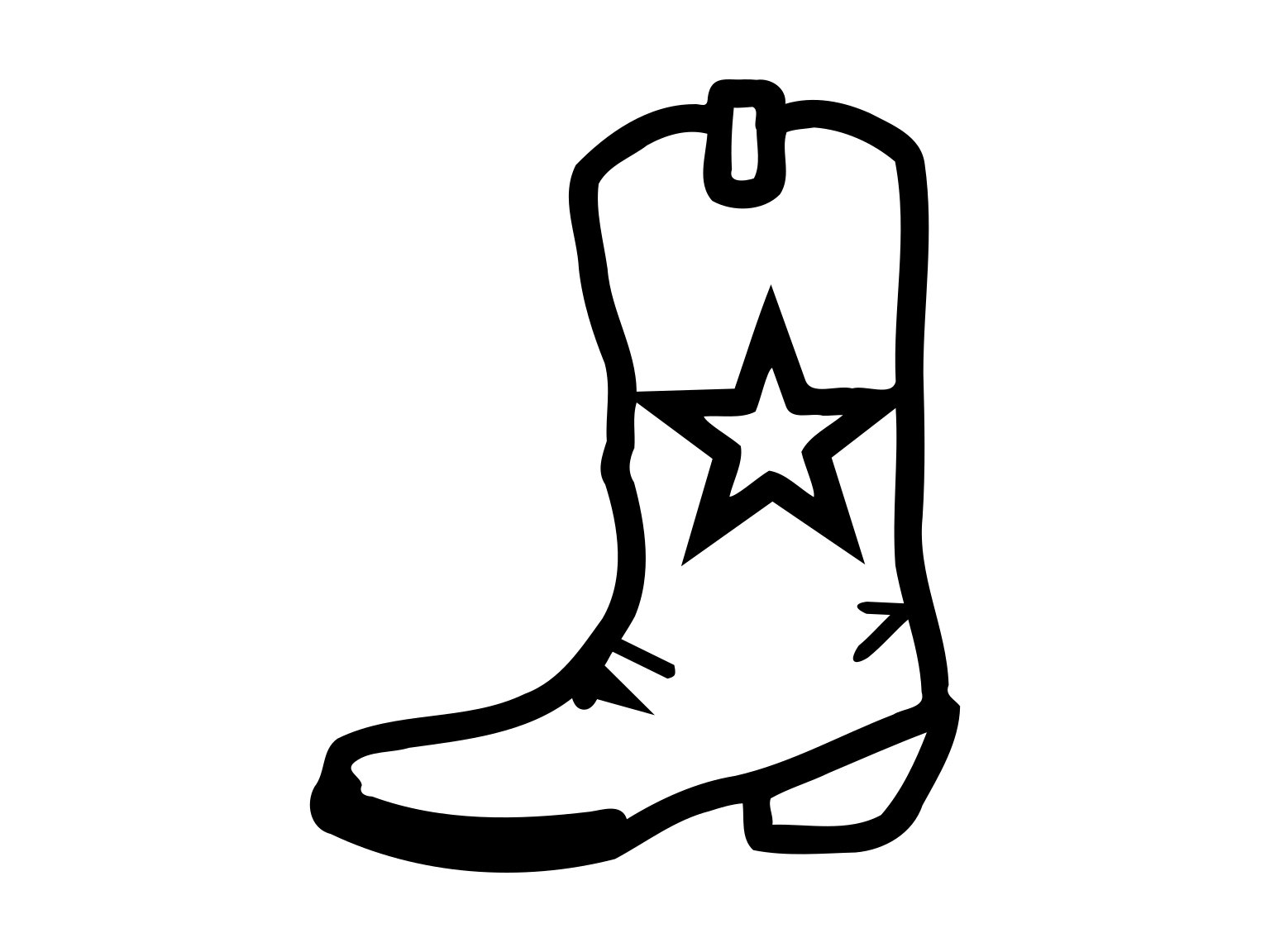 Cowboy Boot Svg Western Boot Svg Cowboy Boot Dxf Western Boot Dxf Cowboy  Svg Files Cowboy Boot Clipart Country Svg Dxf Southwestern Svg.