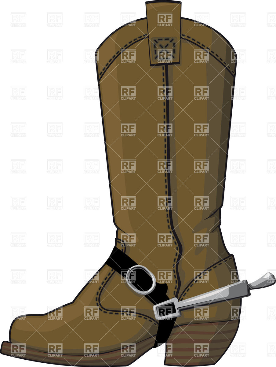 Cowboy Boots Clipart Free.