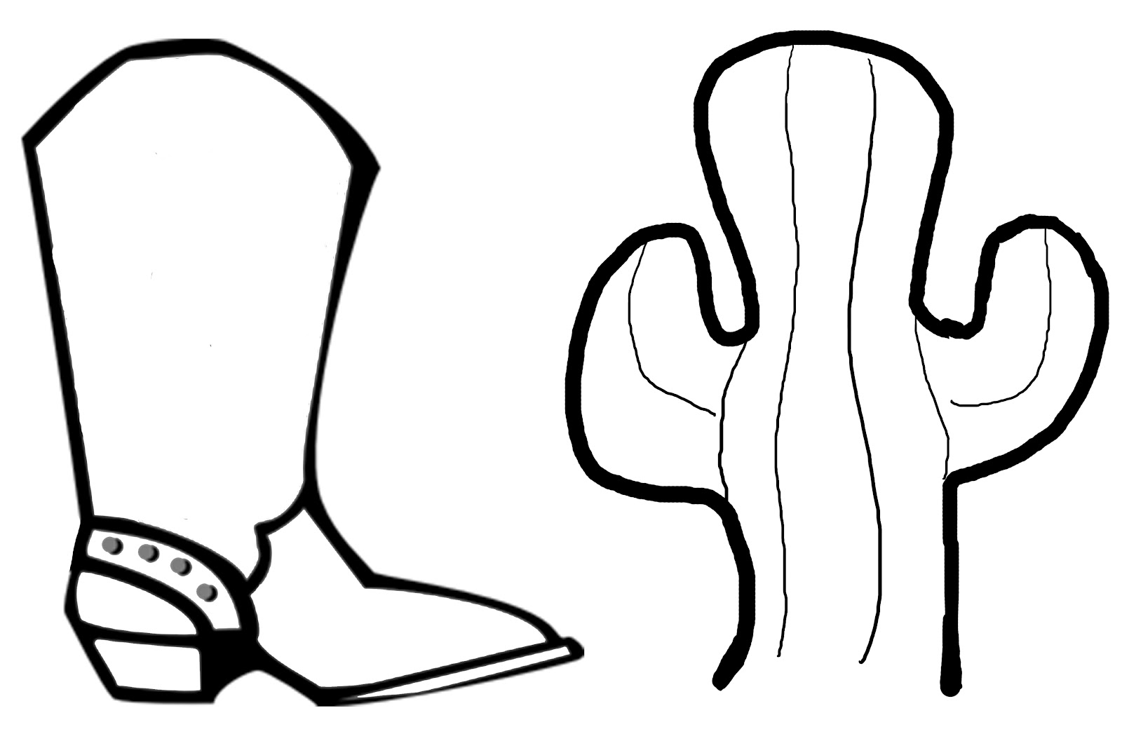 Drawings of cowboy boots clip art library.