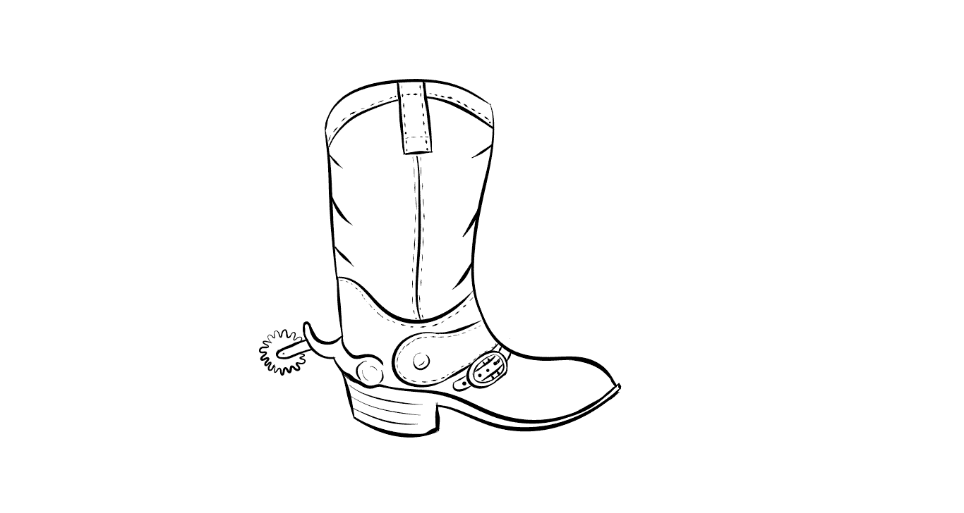 Free Boot Outline Cliparts, Download Free Clip Art, Free.