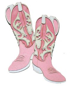Pink cowboy boots clipart 4 » Clipart Station.