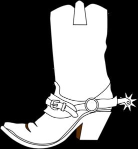 A cowboy christmas boot cowboy boots clip art and cowboys image 2.
