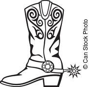 Cowboy boots Illustrations and Clip Art. 1,914 Cowboy boots.
