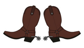 Cowboy Boots Star Clipart.
