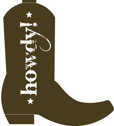 Cowboy Boot Clipart Png.