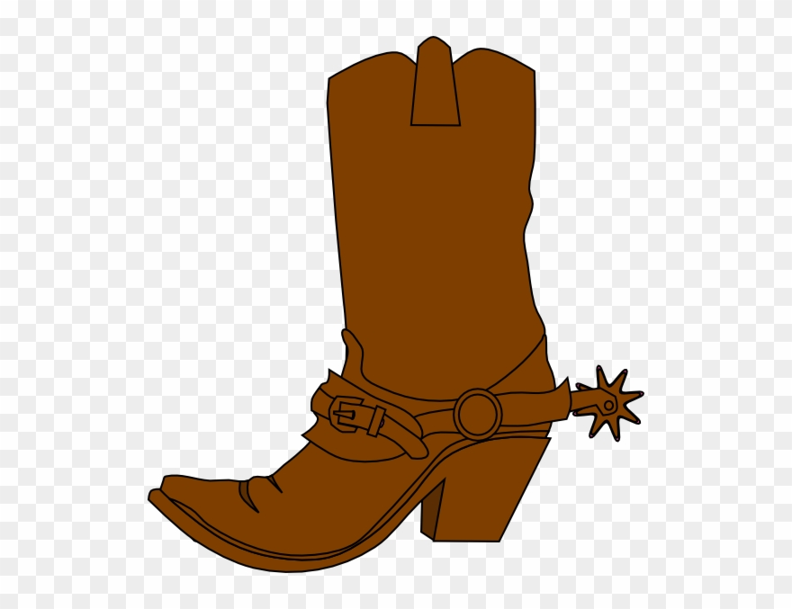 Boot clipart cow boy, Boot cow boy Transparent FREE for.