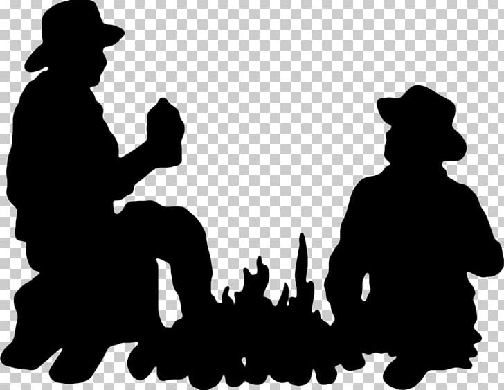 Silhouette Cowboy PNG, Clipart, Animals, Art, Black, Black And White.