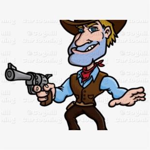 Cowboy Clipart Cartoon.