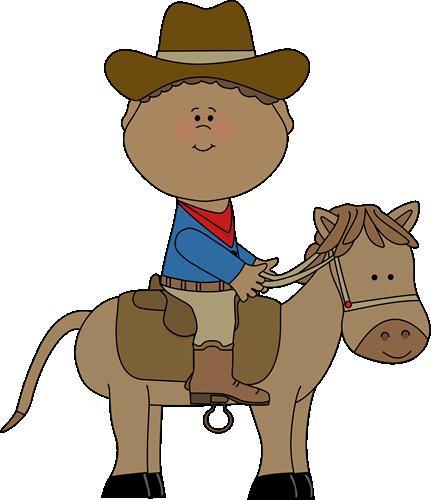 Cowboy Western Clipart.