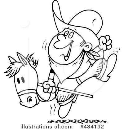 Cowboy Clipart #434192.