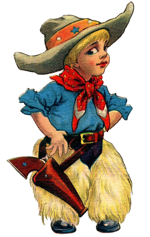 Cowboy clipart for kids image 9.