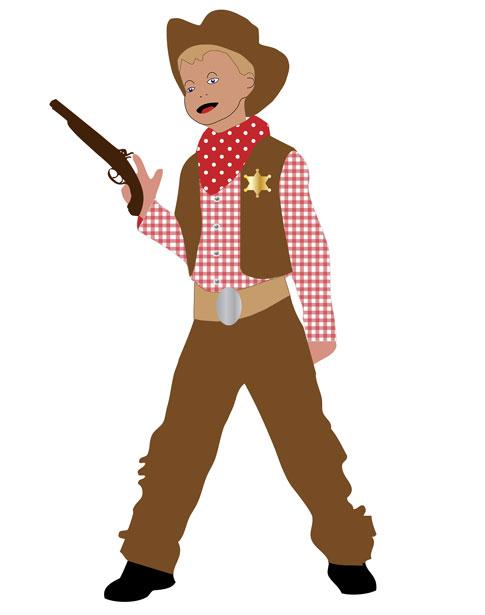 Cowboy Clipart For Kids.