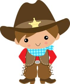 Kid Cowboy Clipart.
