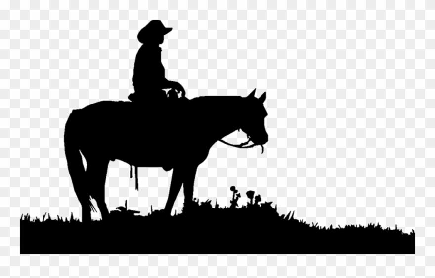 Transparent Horses Cowboy Clipart Freeuse Download.