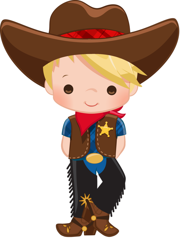 1187 Cowgirl free clipart.
