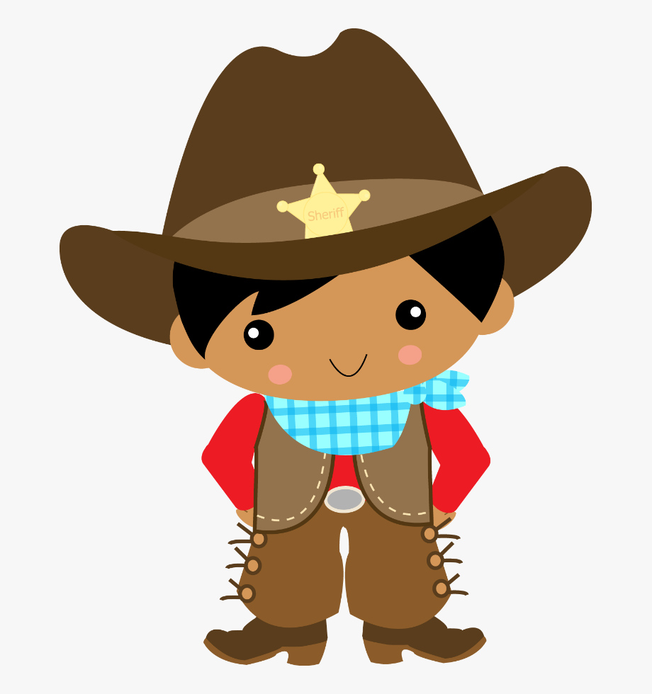 Cowboy And Cowgirl Clipart , Png Download.