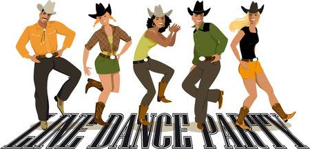 10,929 Line Dance Stock Vector Illustration And Royalty Free Line.