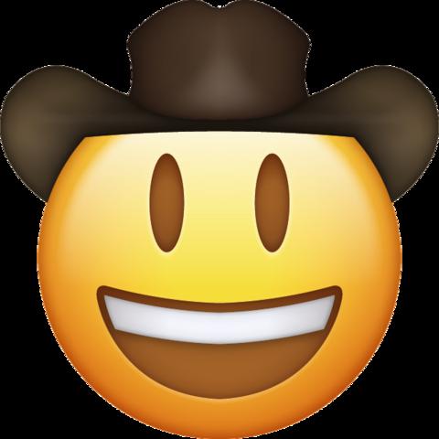 Cowboy Emoji [Download IOS Emojis].