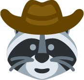 cowboy emoji.