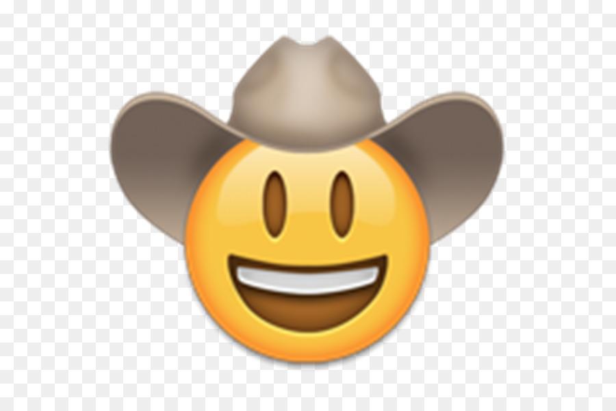 Cowboy Emoji png download.