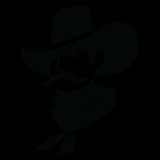 cowboy face clipart 105378.