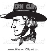 Royalty Free Cowboy Face Stock Western Designs.