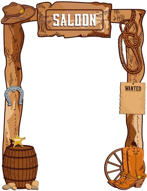 Free Cowboy Border Cliparts, Download Free Clip Art, Free.
