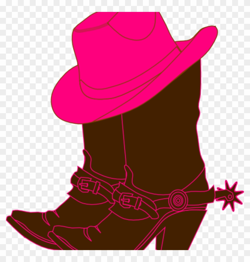 Cowgirl Clipart Cowgirl Boots Clip Art At Clker Vector.