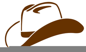 Cowboy Hat Boots Clipart.