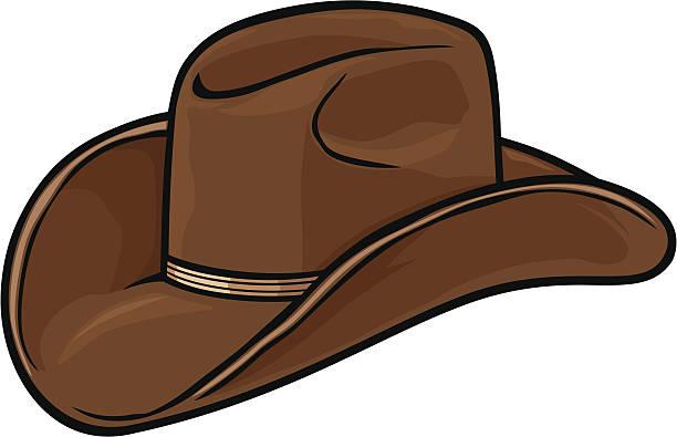 Best Cowboy Hat Illustrations, Royalty.
