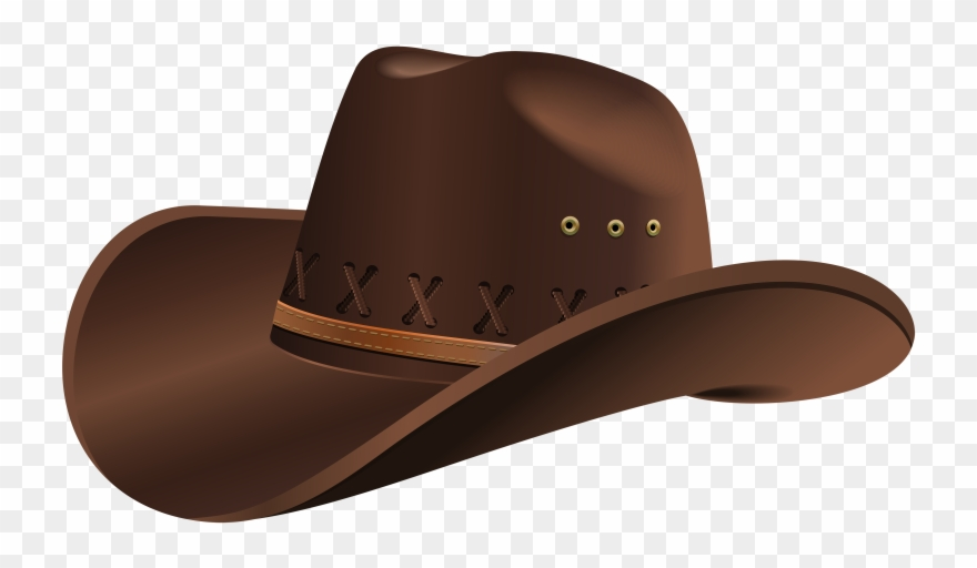 Straw Hat Clipart Cowboy Outfit.