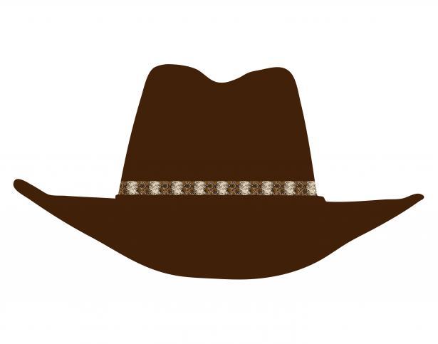 Cowboy hat clipart 5.