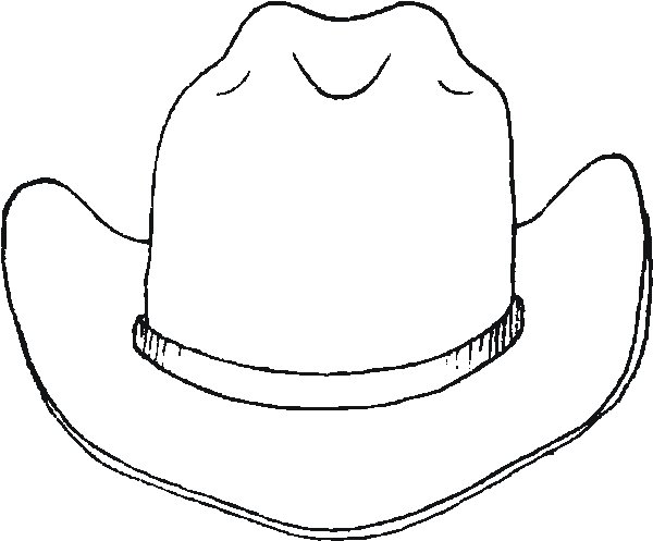 Free Cowboy Hat Template, Download Free Clip Art, Free Clip.